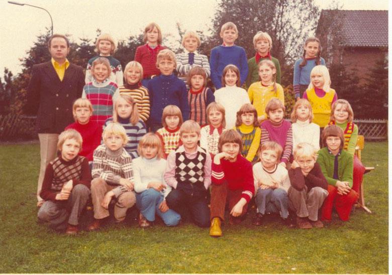 Papenburg Klasse 3c Schuljahr 1974/75