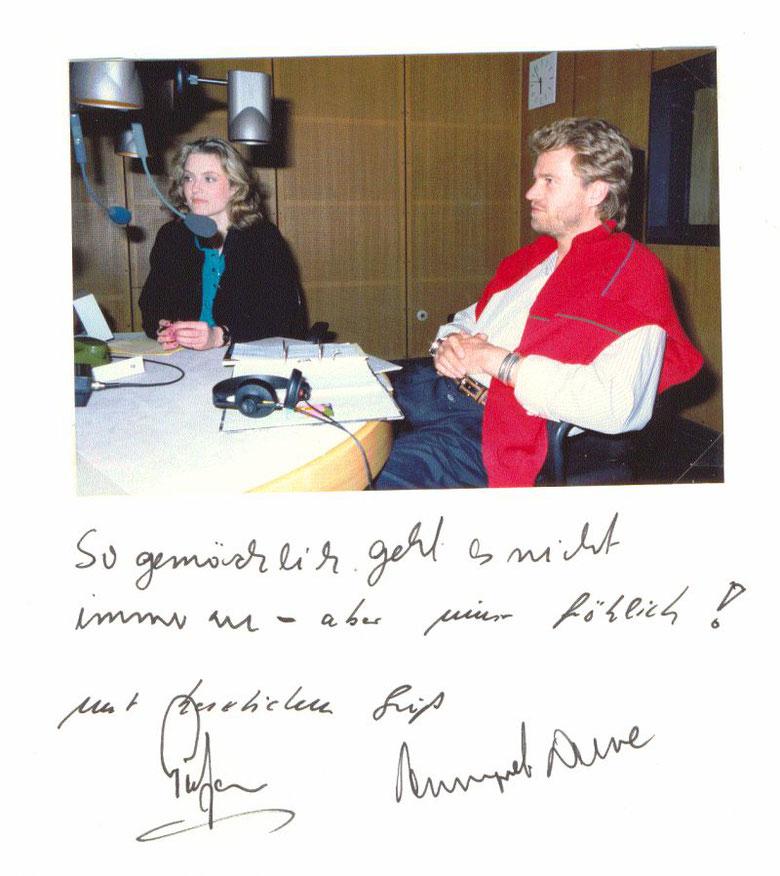 Annegret Duwe und Peter von Sassen
