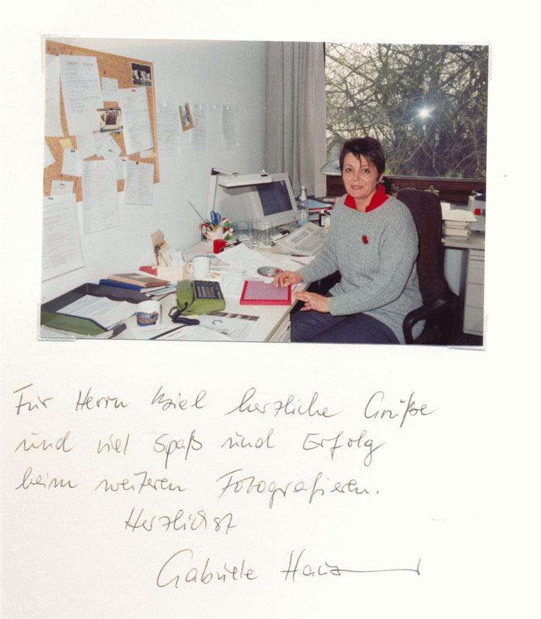Nr. 48  Gabriele Hausmann, Hörfunkredakteurin