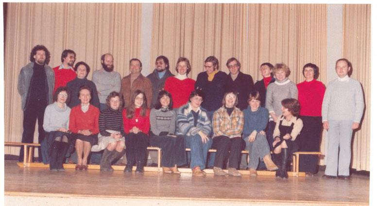 Kollegium Eschershausen Frühjahr 1978