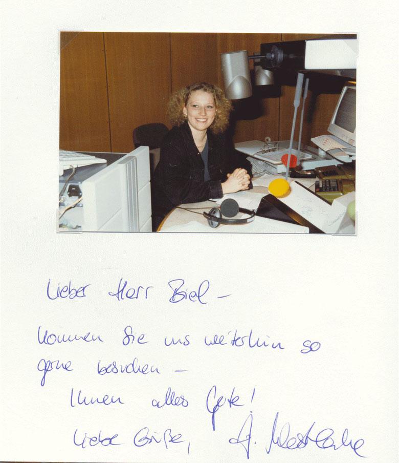 """Nr. 40  Julia Westlake, Moderatorin """"Hallo Niedersachsen"""", Hörfunkmoderatorin, dann """"Aktuelle Schaubude"""", jetzt NDR-Talkshow"""