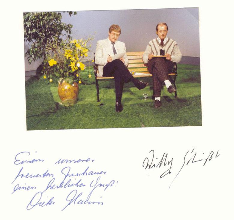 Dieter Haasis und Willy Schießl