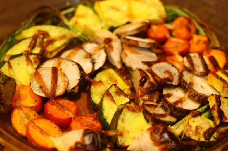 野菜のオーブン焼きの画像
