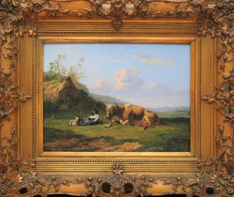 te_koop_aangeboden_een_vee_gezicht_van_de_nederlandse_kunstschilder_johannes_hubertus_leonardus_de_haas_1832-1908