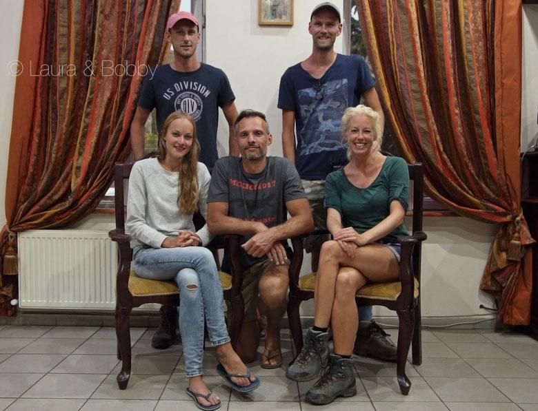 Team Georgia: Dominik, Bobby, Anniek, Laura and myself.