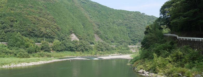 仁淀川の景色