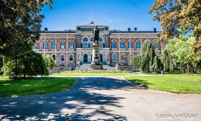Главное здание университета Уппсалы