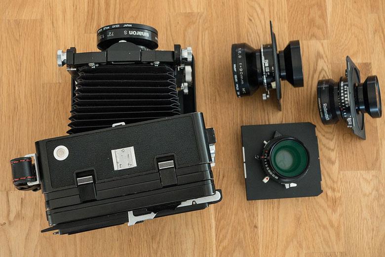 Praxisbericht zur WISTA 45SP. Wie flexibel lässt sich die Laufbodenkamera verstellen? Foto: bonnescape.de