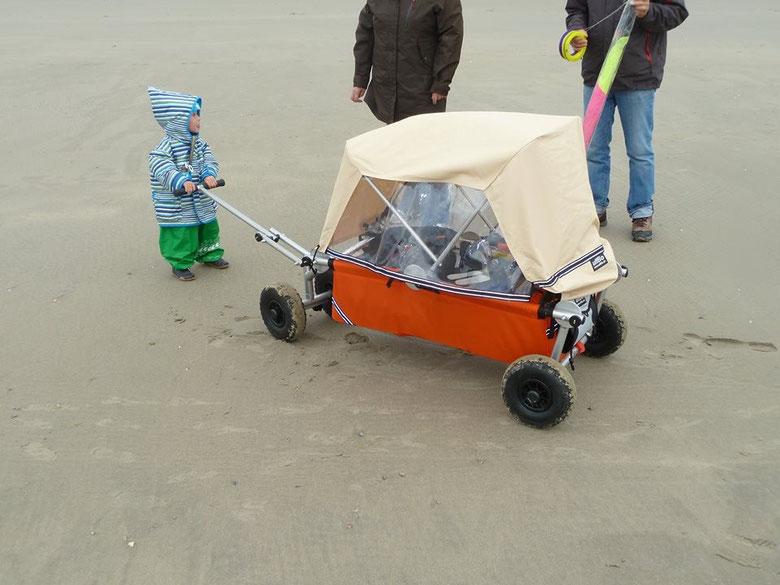 unser Kinderwagen heißt ulfBo