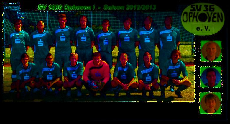 1. Mannschaft Saison 2012 - 2013