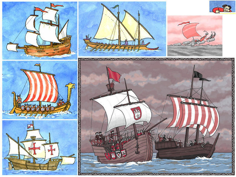 Schiffe - Carlsen, Moses