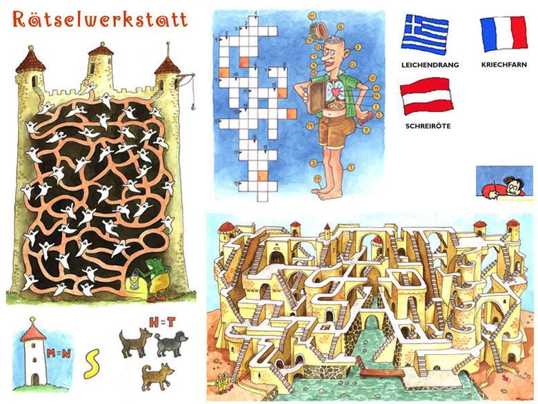 Rätselwerkstatt - Sailer, Christophorus