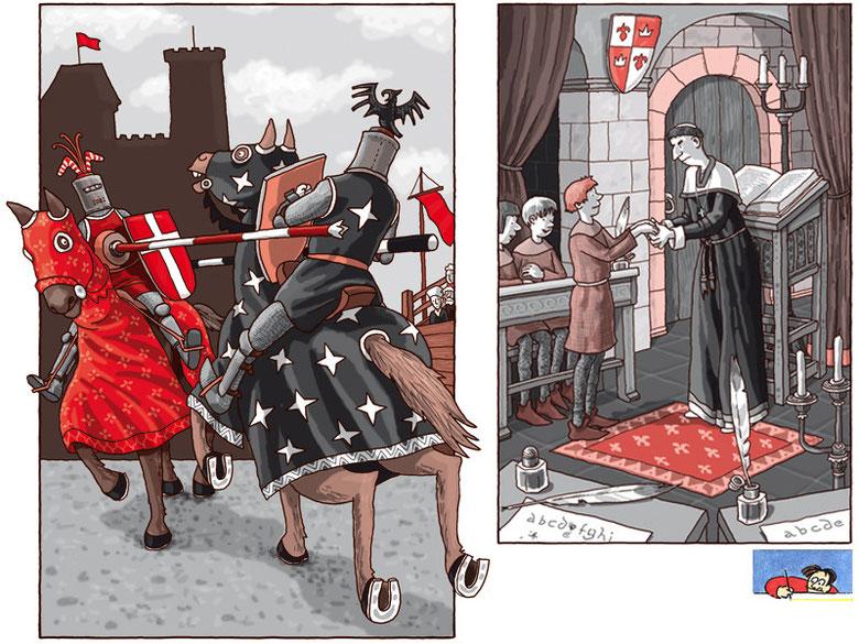 Die ratlosen Ritter 1 - dtv junior