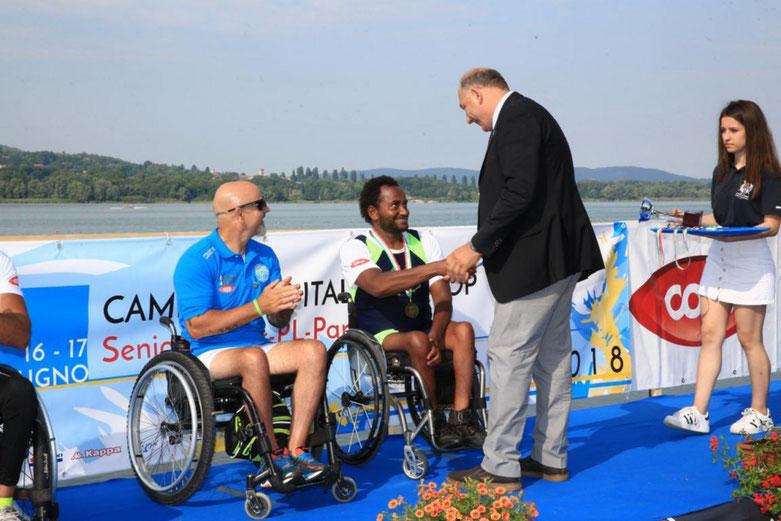 Campionati Italiani Assoluti COOP premiazione
