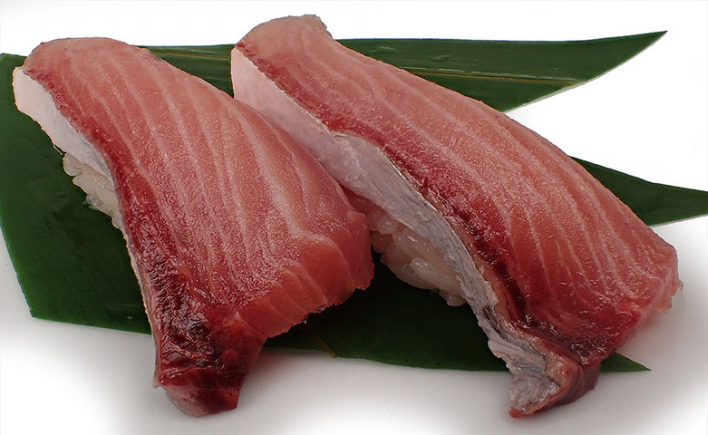 ツムブリのにぎり寿司
