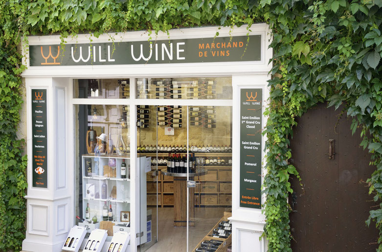 Wine store in Saint-Emilion