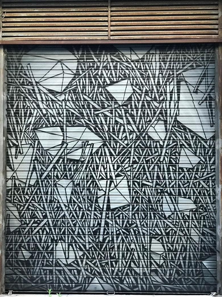 Artwork near to Gambetta Gate