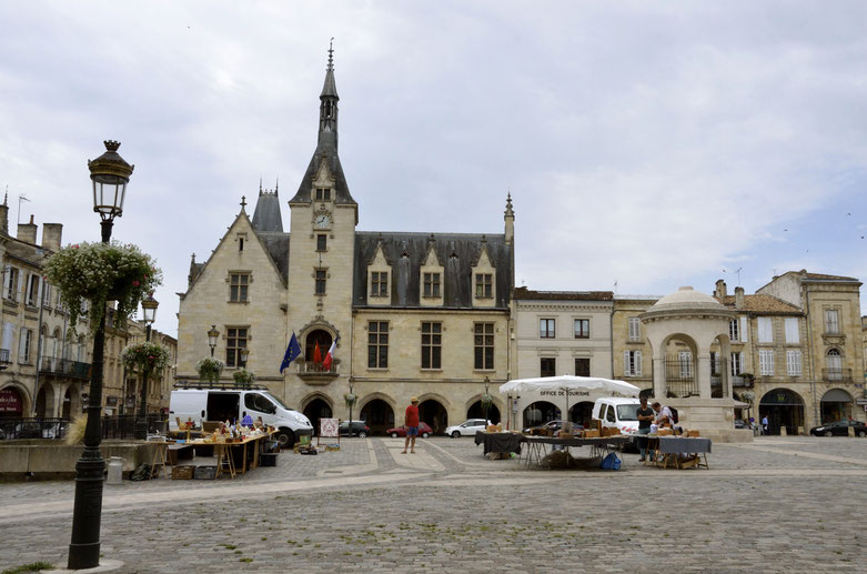 Libourne city centre