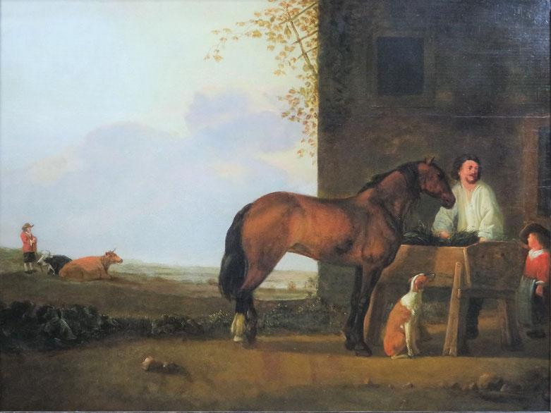 te_koop_aangeboden_een_17e_eeuws_schilderij_van_de_nederlandse_kunstschilder_abraham_van_calraet_1642-1722