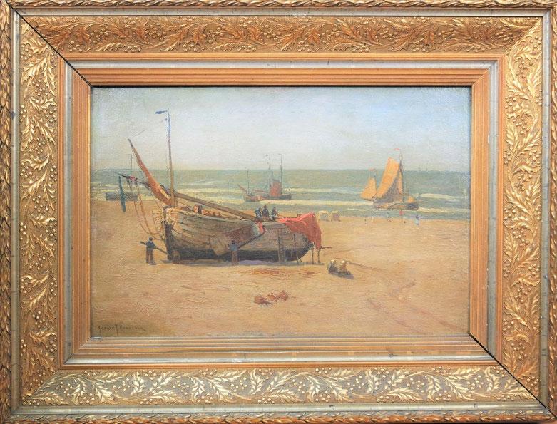 te_koop_aangeboden_een_schilderij_van_de_nederlandse_kunstschilder_gerard_koekkoek_1871-1956_nabloei_haagse_school