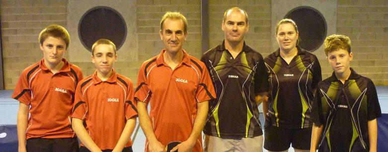 D4 contre Oradour : Cyril G., Noé M. et Bruno G.