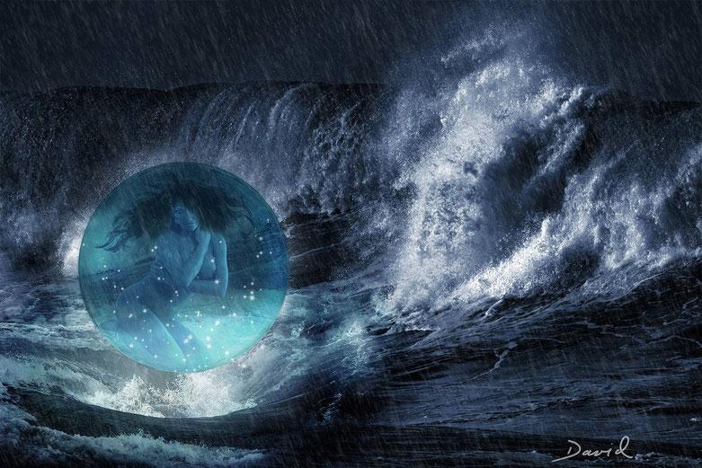 Composing: Geburt einer Meerjungfrau (endgültig letzte - uff - Variante)