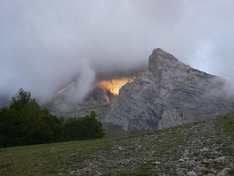 Volcan ?  entre Pène Médaa et Pène Sarrière.