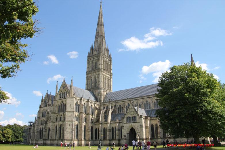 Sehenswürdigkeiten und Reisetipps für Salisbury, England: Kathedrale von Salisbury