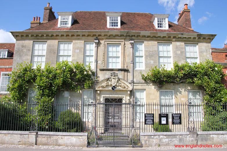 Sehenswürdigkeiten und Reisetipps Salisbury, England: Mompesson House