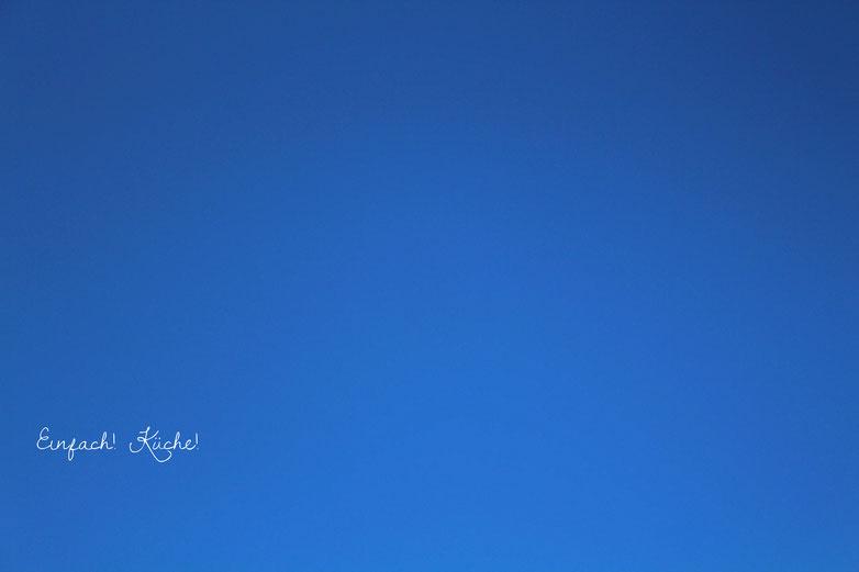 der Himmel über uns im Osterurlaub