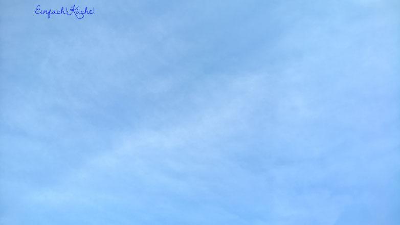 der Himmel über der Rheininsel