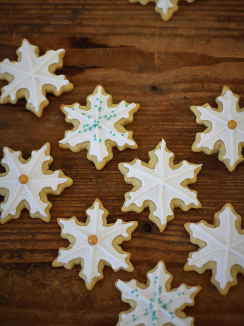 Einfach! Küche! Adventskalender 2018 - Türchen No. 13 - Schneeflockenkekse