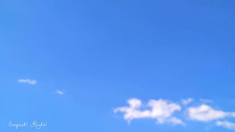 der Himmel über Südfrankreich