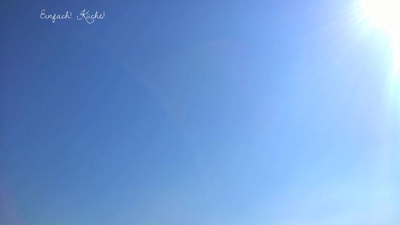 der Himmel über dem Mittelmeer