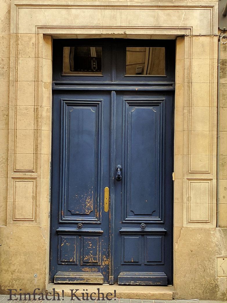 Einfach! Küche! Bordeaux, Frankreich - Eingangstür