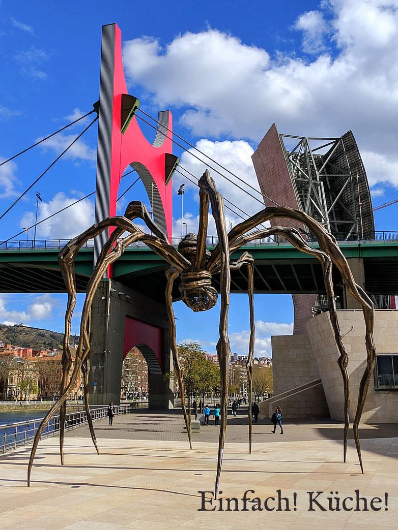 Einfach! Küche! Bilbao, Spanien - Guggenheimmuseum