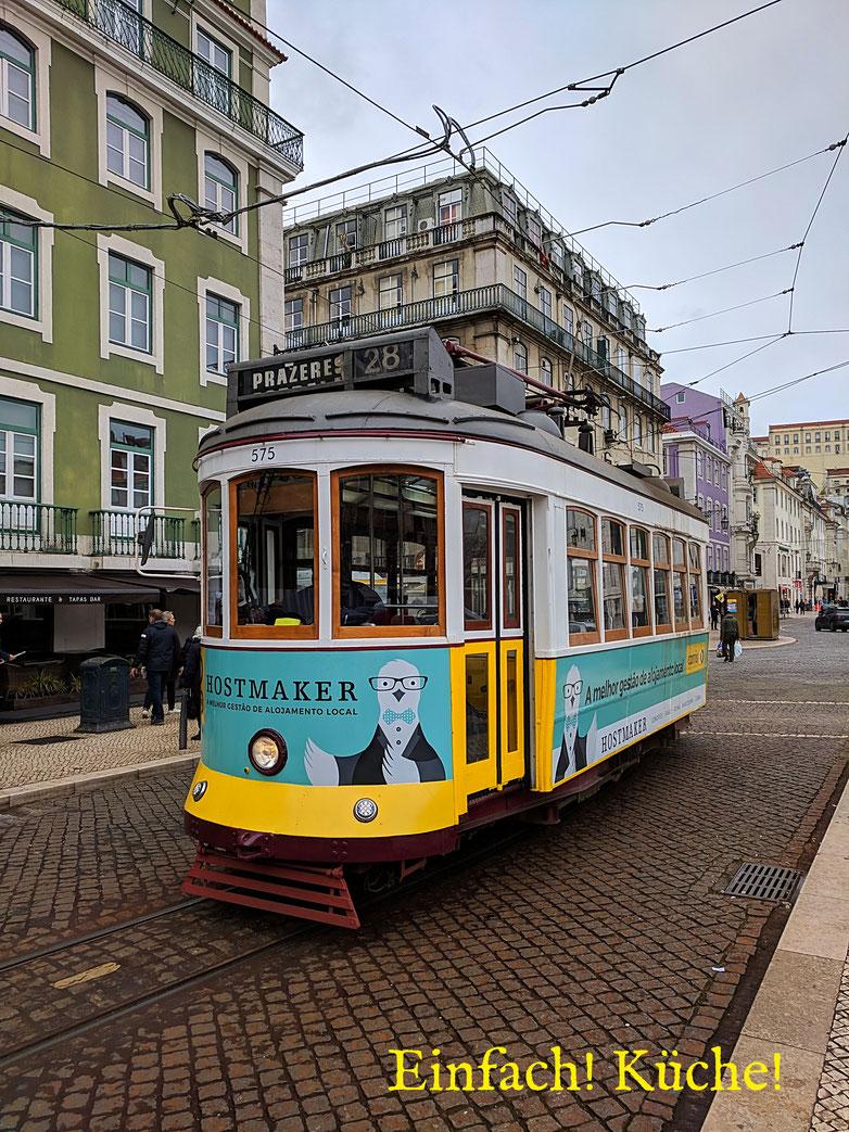 Einfach! Küche! Lissabon - Strassenbahn Linie E28