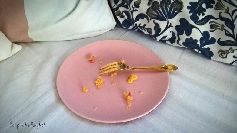 der weltbeste Erdbeerkuchen - aufgegessen