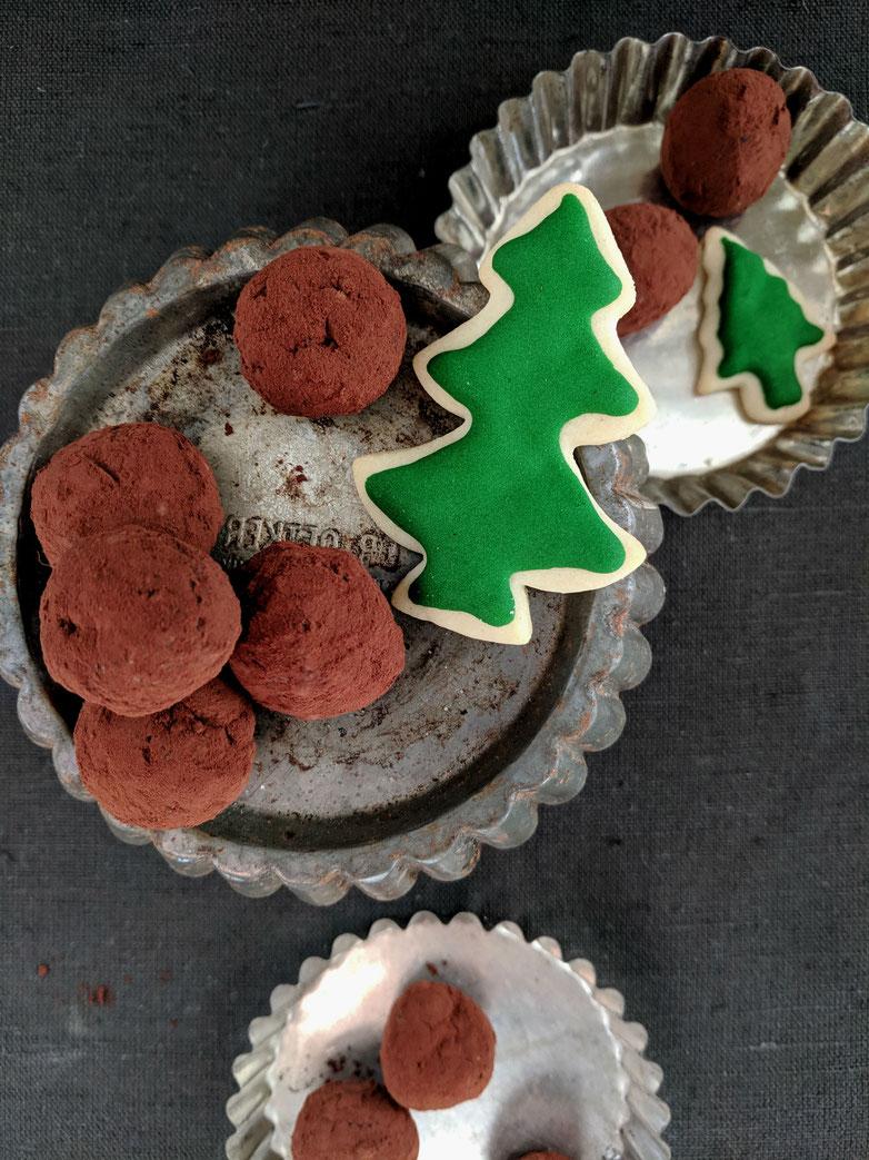 Einfach! Küche! Adventskalender 2018 - Türchen No. 9 - LebkuchenTorte mit Rotweintrüffeln