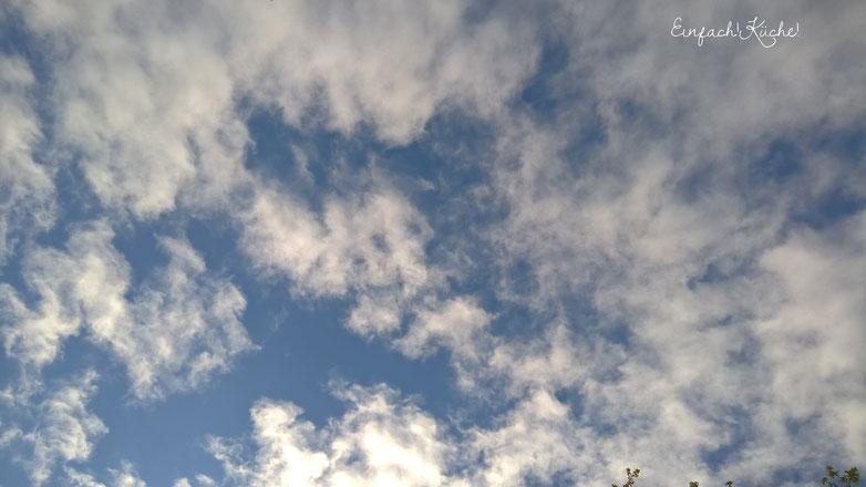 der Himmel über dem Elsass