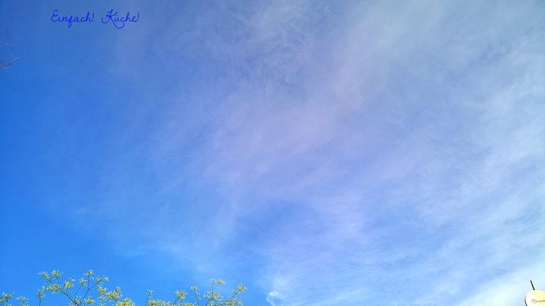 der Himmel über Bouzigues