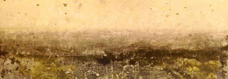 """Tempestad"" - Acrílico sobre lienzo - 75W x 46H x 2cm"