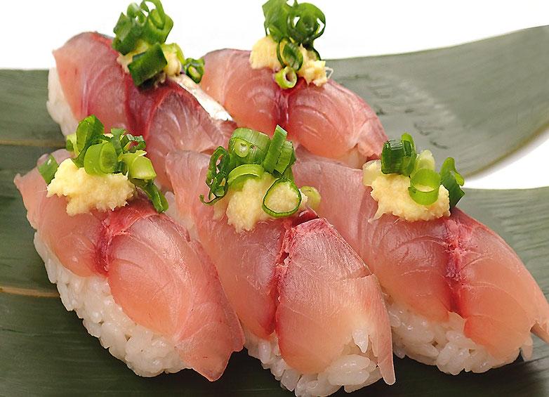 宅配寿司 半額 アジのにぎり