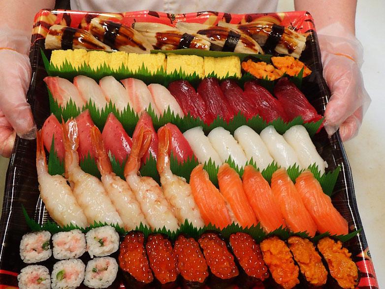 新宿区 寿司の出前