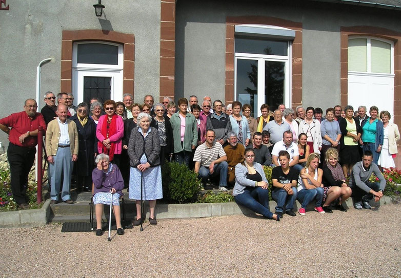 60 convives au repas du CCAS 2015 - Mairie de Sorbier (03220)