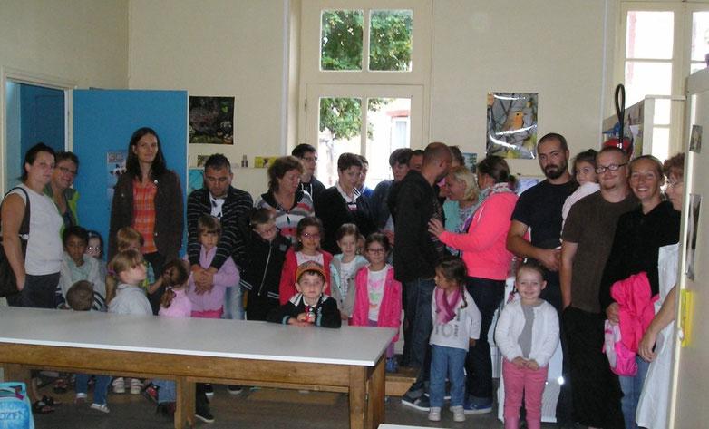 Rentrée scolaire 2015-2016 à Sorbier (03220)