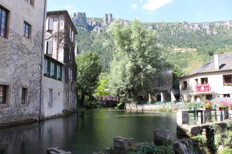 Rivière traversant Florac
