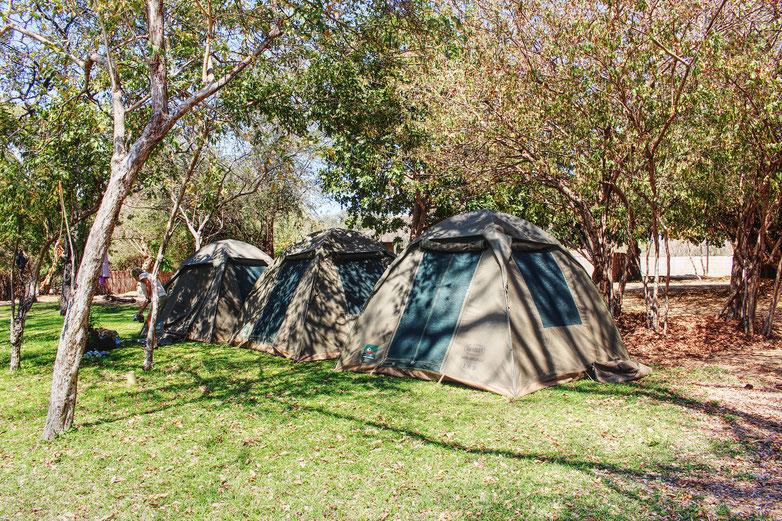 Bwabwata National Park campsite