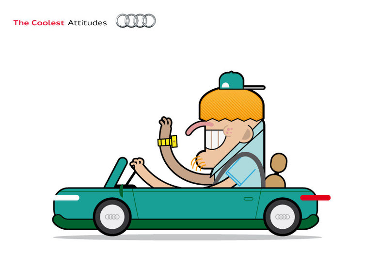 The Coolest Audi Attitudes