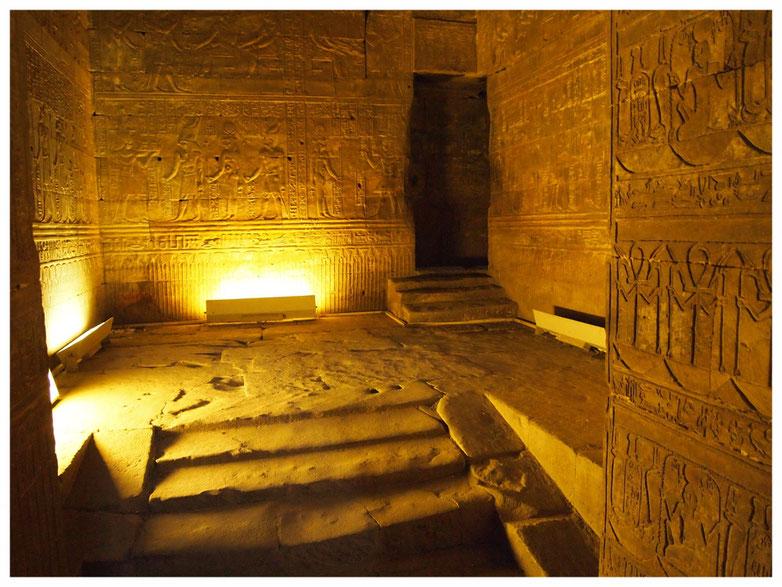 El Templo de Edfú, en Aswan (Egipto)
